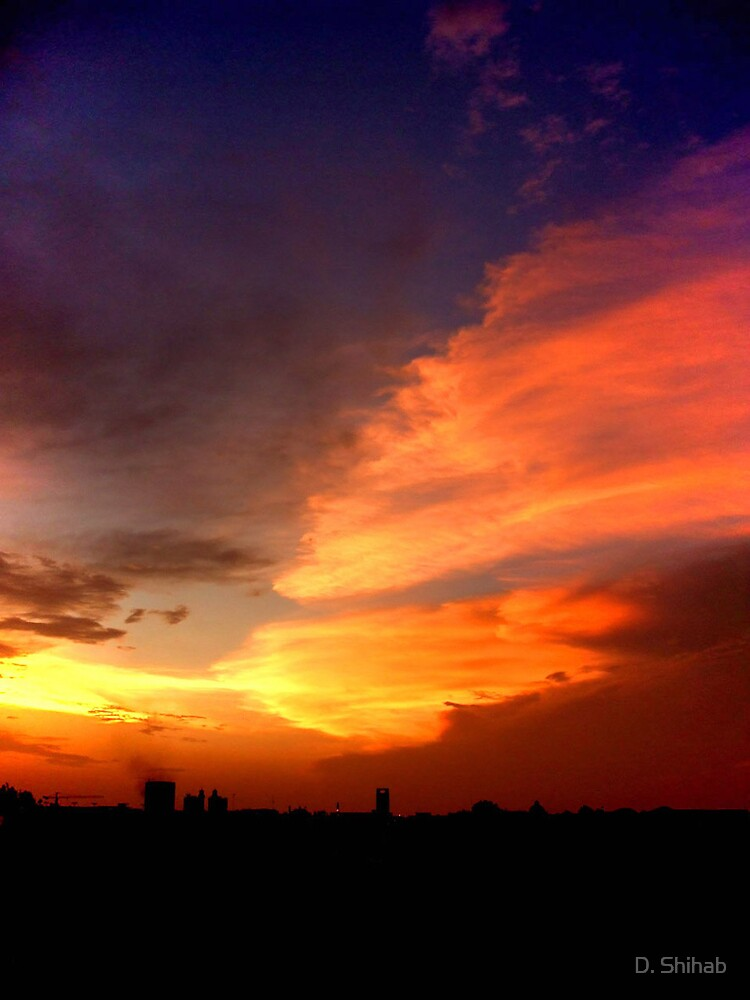 Amazing Sunset 3 by D. Shihab