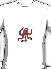 octopus in mittens T-Shirt