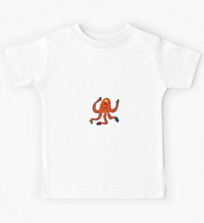 octopus in mittens Kids Tee