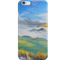 Sunrise in Kerry mountains  iPhone Case/Skin