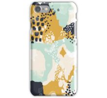 Tinsley - Modern abstract painting in bold, fresh colors iPhone Case/Skin