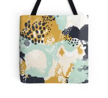 Tinsley - Modern abstract painting in bold, fresh colors Tote Bag