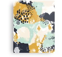 Tinsley - Modern abstract painting in bold, fresh colors Metal Print