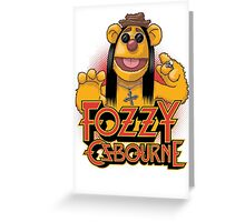 Fozzy Osbourne  Greeting Card