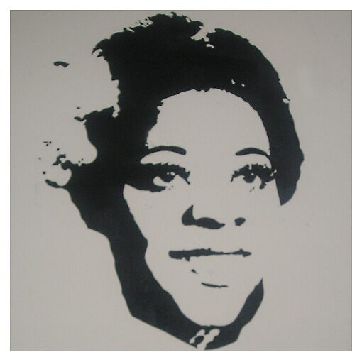 Dinah Washington by Gus McShane