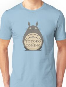 Totoro Is Coming Unisex T-Shirt