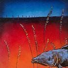 Prairie Salmon by carolyndoe