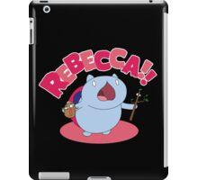 Rebecca! iPad Case/Skin