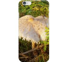White Toadstool 3 iPhone Case/Skin