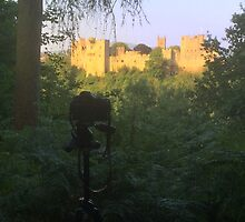 Ludlow Castle (c.1075), Shropshire, UK by cardsdifferent