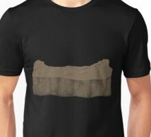 Glitch Groddle Land heights hole cover Unisex T-Shirt