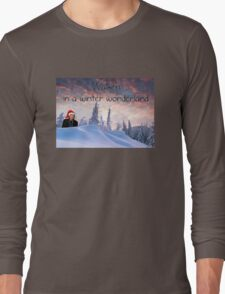 Walken in a Winter Wonderland Long Sleeve T-Shirt