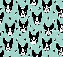 Boston Terrier - Mint by Andrea Lauren