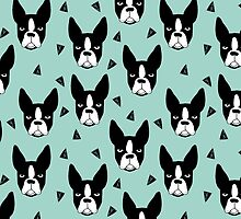 Boston Terrier - Mint by Andrea Lauren