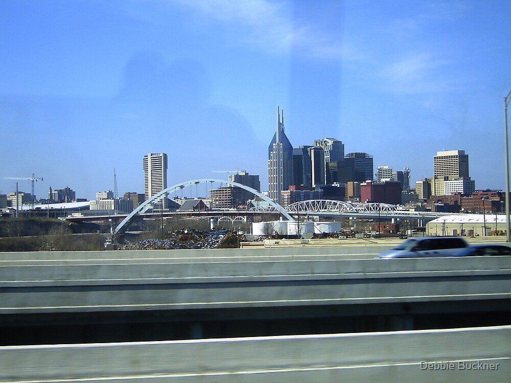 Driving by Nashville  by Debbie Buckner