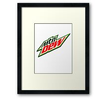 Do the Dew Shirts & Stickers Old School Framed Print