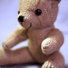 Baby Teddy Blue by Cathie Tranent