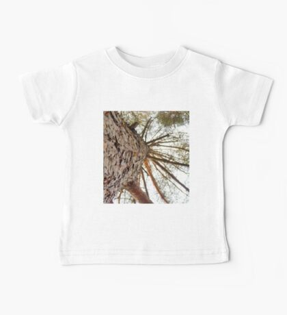 Bottom View of Pine Tree 2 Baby Tee