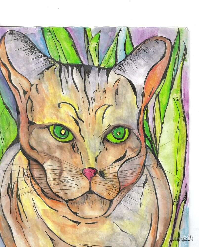 voodoo cat by valery214