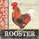 Country Rooster 2 by Debbie DeWitt