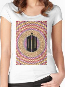 Doctor Who Trip Women's Fitted Scoop T-Shirt