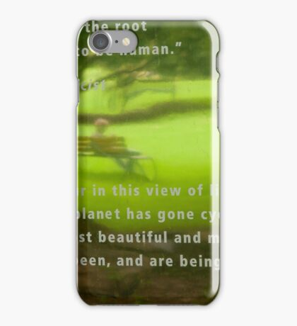 Contemplating Darwin iPhone Case/Skin