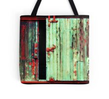 What the hell is behind that door ! Tote Bag