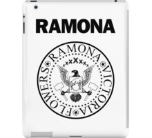 Ramona - Black iPad Case/Skin