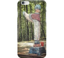 """""""The Winged Guardian"""" iPhone Case/Skin"""