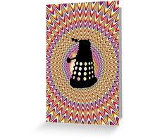 Dalek Trip Greeting Card