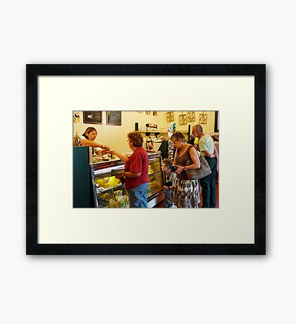 The Purchase Framed Print