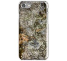 Abstract ice figures iPhone Case/Skin