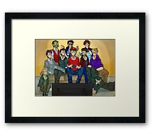 Creatures + Spencer Game Night  Framed Print