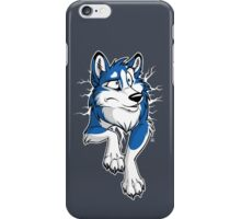 STUCK Husky Blue iPhone Case/Skin