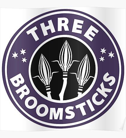 Three Broomsticks  Poster