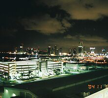 Miami Lights by sillumgungfu