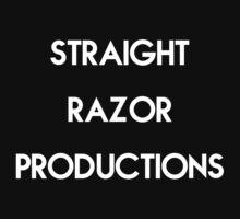 Straight Razor Productions Logo Tee - Black by SRP-Merchandise