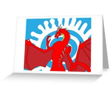 Signed & Limited Edition: Annoth the Warrior Dragon Greeting Card