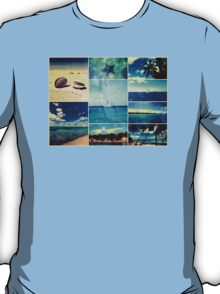 Starry Starry Caribbean Night Collage T-Shirt
