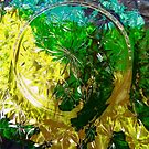 Abstract in Yellow and Green by Shulie1