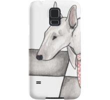 Bull terrier vector Samsung Galaxy Case/Skin