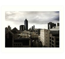 Melbourne buildings Art Print