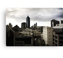 Melbourne buildings Canvas Print