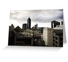 Melbourne buildings Greeting Card