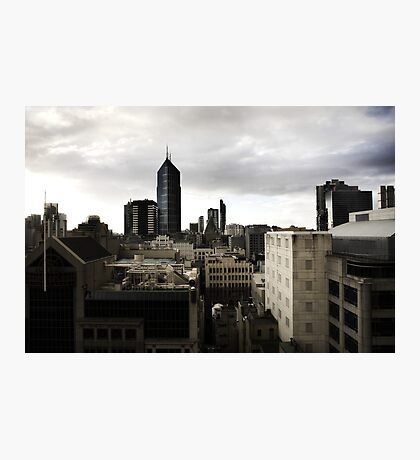 Melbourne buildings Photographic Print