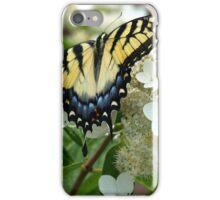 Yellow Tiger Swallowtail iPhone Case/Skin