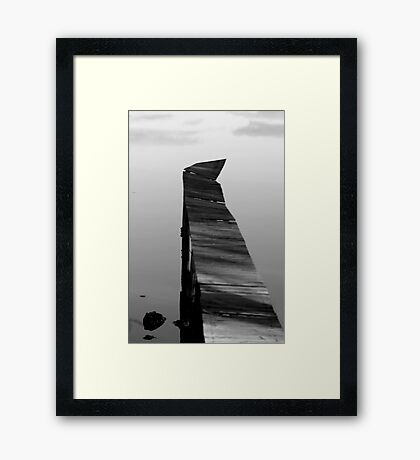 Old Jetty #2 Framed Print
