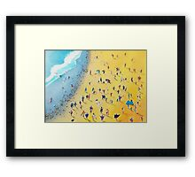 Beach Party by Neil McBride Framed Print
