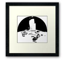 Krazy Kat Pulp Fiction Framed Print