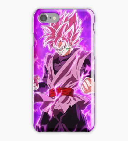Black Super Saiyan Rose iPhone Case/Skin